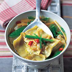 Raviolis+en+bouillon,+au+porc+et+aux+crevettes