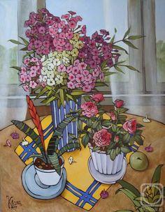 Калинкина Дина. Мои цветы