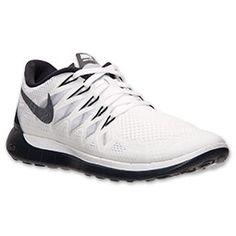 classic fit e2471 8884f Women s Nike Free 5.0 2014 Running Shoes   Finish Line   White Black Pure
