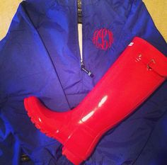 Marley Lilly and Hunter boots