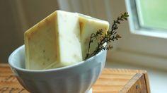 lemon thyme soap!!!!