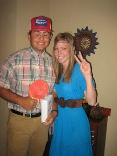 cute halloween idea: forrest and jenny
