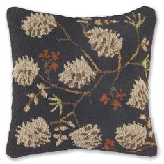 Log Cabin style pillow