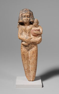 Female figure Period: Middle Kingdom–Early New Kingdom Dynasty: Dynasty 12–18 Date: ca. 1981–1550 B.C. Geography: Country of Origin Egypt, MMA Medium: Limestone, paint