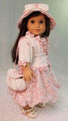 MHD Designs - Robe Nuage - Fashion Pattern for 18 Inch American Girl Dolls