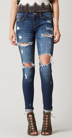 KanCan Low Rise Skinny Stretch Jean - Women's Clothing   Buckle