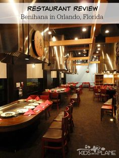 Benihana Orlando Review - See why we love this teppanyaki hibachi style restaurant. Guests are guaranteed an entertaining and delicious night out at Benihana! | #KidsOnAPlane #DiningOut #RestaurantRecommendations #OrlandoRestaurants #OrlandoRestaurantReview #WhatToEatInOrlando #TravelTips