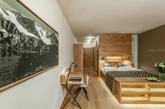 Este hotel spa dispone de 200 habitaciones y suites con decoración simple y elegante