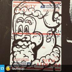 #Stickersocialclub @buttsup ・・・#tbt #christmas #sticker #fatsanta #buttsup #buttless #slaps #sticker art #madhashtags #stickersocialklub