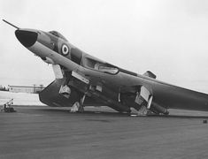 """This also happened to Crew Chief """"Happy Jack"""" Helmsley's aircraft one night at Waddington. Navy Aircraft, Ww2 Aircraft, Fighter Aircraft, Fighter Jets, Military Jets, Military Aircraft, Vickers Valiant, Handley Page Victor, Anti Flash"""