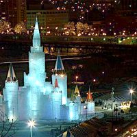 St. Paul Winter Carnival- ice palace