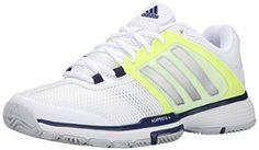 Adidas Performance Barricade V - w de las mujeres Zapatos de tenis, blanco