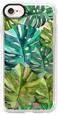 Casetify iPhone 7 Classic Grip Case - Trópicos by Li Zamperini Art #Casetify