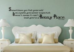 Outlander Inspired Quote A Path You Never Expected Can Lead To A Bonny Place Vinyl Wall Decal Sticker