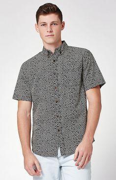Bloom Short Sleeve Button Up Shirt