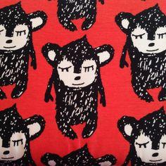 Little Hippu - Chilli by PAAPII Design (Finland) - Organic Cotton Jersey (6006.24.00.00)