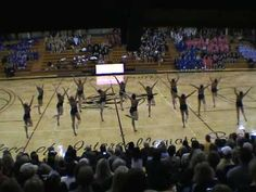 University of Minnesota Dance Team. They are amazing!