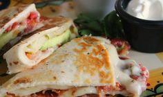 Bacon, Tomato, and Avocado Quesadilla | The Daily Meal