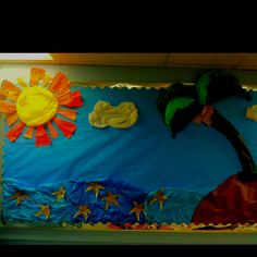 Summer fun bulletin board