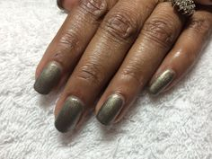 "CND Shellac in ""Steel Gaze"""