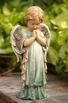 Angel Garden Statues, Garden Angels, Garden Statues For Sale, Sculpture Art, Sculptures, Ange Demon, Angel Pictures, Jolie Photo, Angel Art