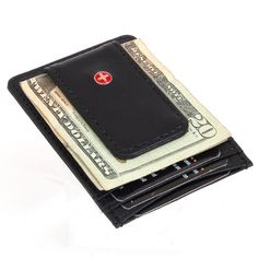 The Alpine Swiss Money Clip Slim Wallet lets you carry all you need in a small comfortable wallet. Stop sitting on a big fat wallet.