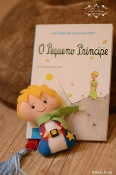 Pequeno príncipe pocket feltro