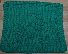 DigKnitty Designs: Sea Turtle Knit Dishcloth Pattern
