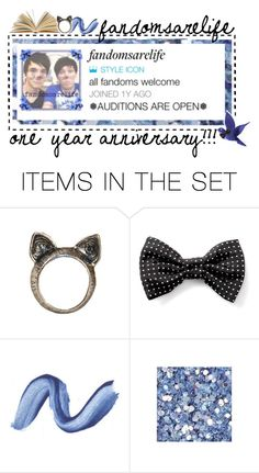 """""""One Year Anniversary"""" by fandomsarelife ❤ liked on Polyvore featuring art and loonylunalovegood"""