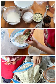 How to make ice cream in a bag. Perfect summer treat.
