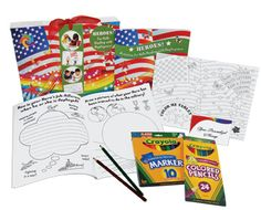 HEROES activity books for military children