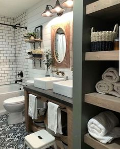 small bathroom storage ideas is unquestionably important for your home. Whether you choose the remodel a bathroom or bathroom remodel shiplap, you will make the best small bathroom storage ideas for your own life. Bathroom Renos, Bathroom Layout, Basement Bathroom, Bathroom Interior, Modern Bathroom, Small Bathroom, Master Bathroom, Bathroom Designs, Bathroom Ideas