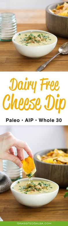Dairy Free Cheese Dip AIP Paleo Dairy Free Cheese Dip AIP Paleo Susan Cooper Paleo meals Skip To RecipeThis Dairy Free Cheese Dip is nbsp hellip snacks costco Dairy Free Cheese, Vegan Cheese, Paleo Whole 30, Whole 30 Recipes, Dairy Free Recipes, Paleo Recipes, Paleo Meals, Paleo Pasta, Easy Recipes
