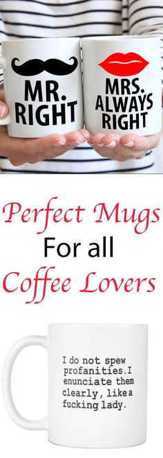 Perfect Mugs For All Coffee Lovers Blog