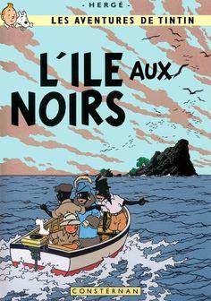 Tintin - L'ile aux noirs by Bispro.deviantart.com on @DeviantArt
