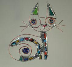 Cat by ArtesanoGallery on Etsy, $28.00