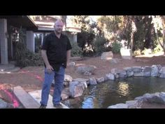 Designing a koi pond begins with three very basic fundamentals. Learn how to identify these important design elements in this video presentation. Koi Fish Care, Koi Fish Pond, Koi Ponds, Koy Fish, Fish Outline, Koi Pond Design, Small Fish Tanks, Pond Construction, Diy Pond