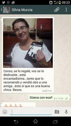 Conso de Murcia. Puedes adquirir tu ejemplar de «Todas son buenas chicas» en http://bit.ly/1nnYIIp