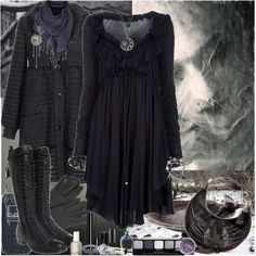 Love that dress :) ~ by fieruta on Polyvore
