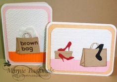 Papertivity: Let's Go Shopping - Discovering Die Cuts - Memory Box Dies
