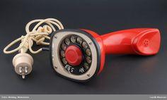 Telefon @ DigitaltMuseum.no Telephone, Landline Phone, Antique, Phone, Antiques, Old Stuff