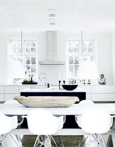 Et moderne køkken med små kontraster - Fantastiske køkkener