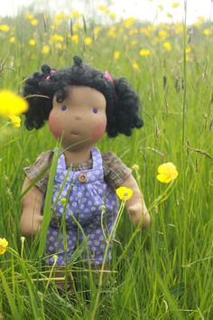 Waldorf Inspired doll called Nicole she is 16 tall by louisejedi, $127.00