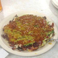 Cenando tacos!!! :D
