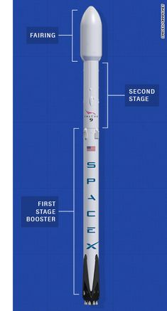 Simplified diagram of the Space X Falcon 9 rocket. Rocket Drawing, Spaceship Drawing, Spaceship Concept, Spacex Falcon Heavy, Plane Crafts, Mars Project, Spacex Rocket, Falcon 9 Rocket, Kerbal Space Program