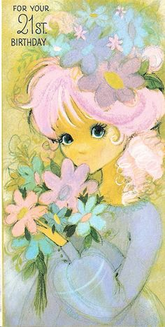 Retro birthday card.  Love it!