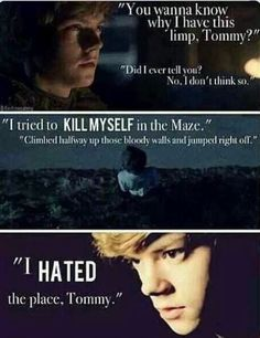 Poor newt. I couldn't help but read the heart clenching words with tears eyes. WHY DASHER! WWWHHHYYYY!