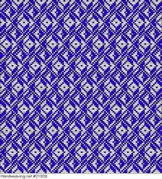 draft image: Fressinet 1800b, Fressinet, B. Atlas D'Armures Textiles, 16S, 52T