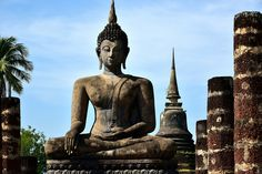 https://flic.kr/p/NsvukA   Sukhothaï buddha Thailand   Buddha at Wat Mahathat temple  #Sukhothai, #Thailand, Asia. First capital of Siam was established in 1238 and ending the Khmer kingdom of Angkor Wat. Sukhothai was listed in 1991 as World Heritage of Humanity. She is most famous for his art than for his political achievements.  Available on #getty in few days.  Many thanks to all those who View, Comment and or Fave My Photos... It is greatly appreciated... Vincent ;)  Check it out my…