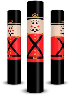 Toy Soldier Huggits Column Wrap (They also have LOTS of other styles available)